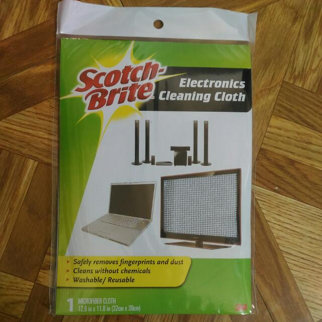 Scotch Brite Electronics Cleaning Cloth