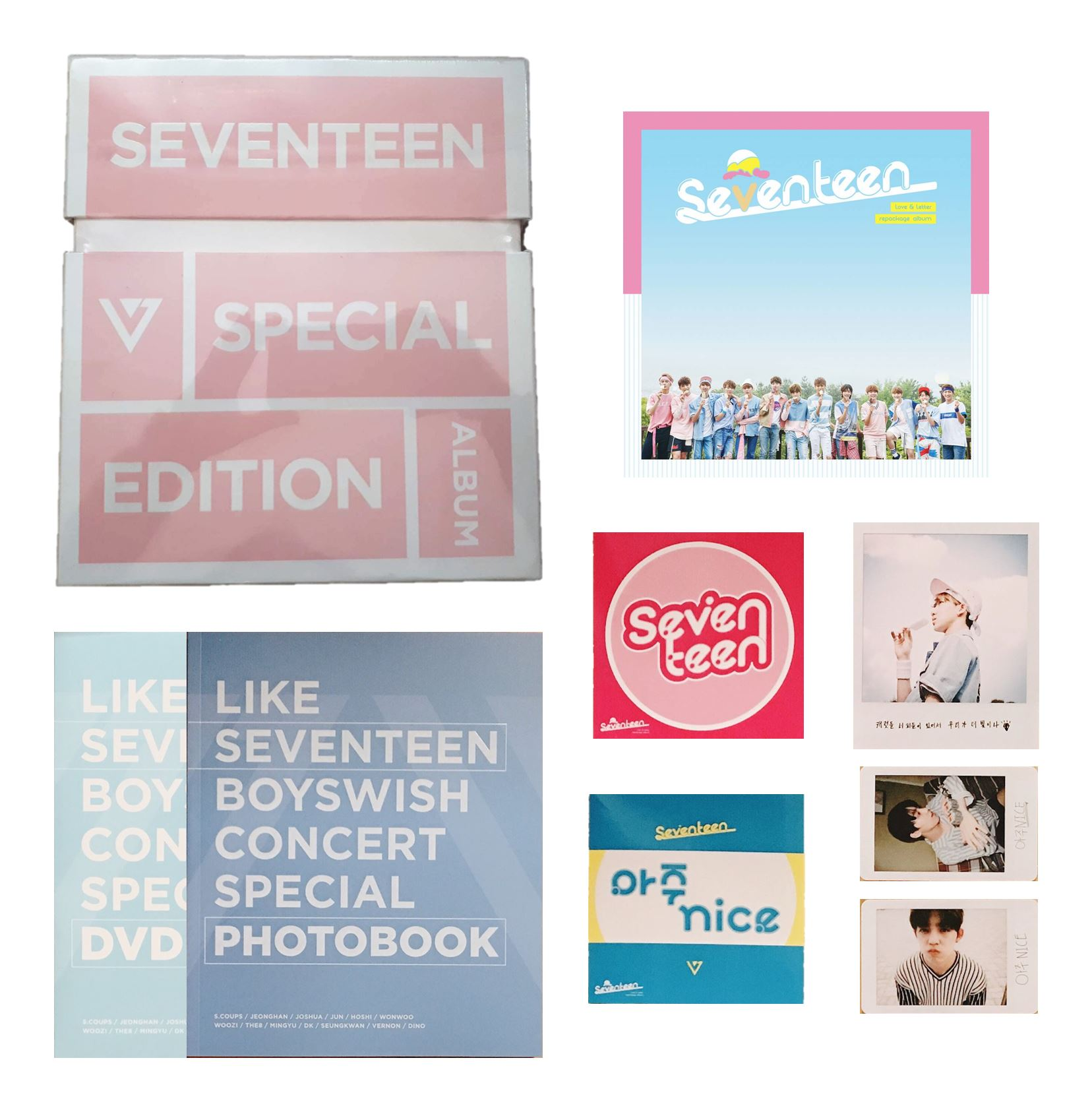 SEVENTEEN Love & Letter Repackaged Special Edition