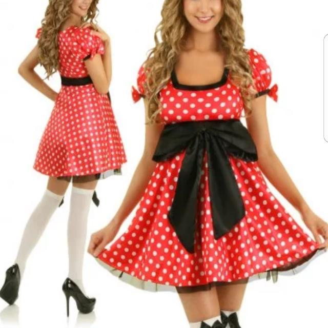 SIZE XL Will Fit Size 8-10 Minnie Outfit