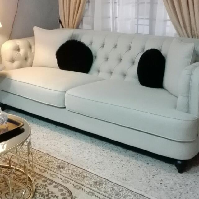 Sofa 3seater ssf rumah perabot perabot di carousell for Ssf home designs