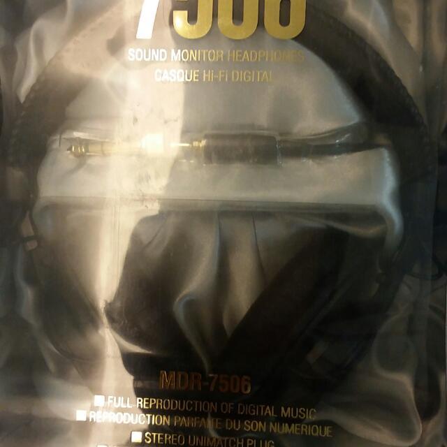 SONY MDR-7506耳機