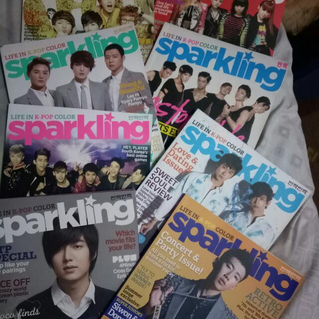 Sparkling Magazines (2011-2013 Issues)