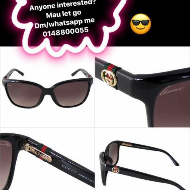 933cfa20714d Sunglasses BY GUCCI