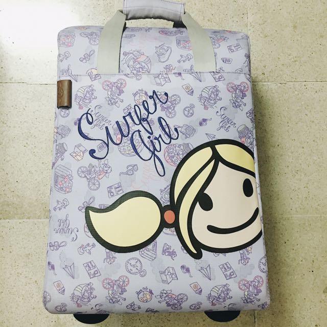 Surfer Girl Luggage