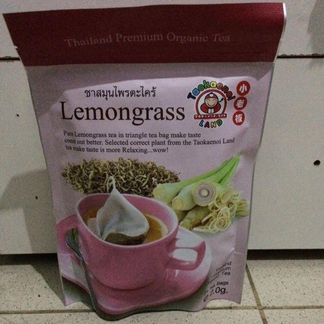 Tea Organic Lemongrass Thailand