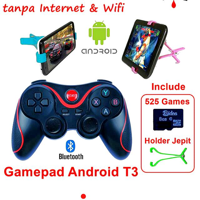 Terios GAMEPED + 525 Game Bluetooth Android Smartphone VR