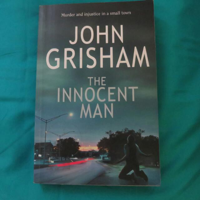 💙repriced💚The Innocent Man - John Grisham