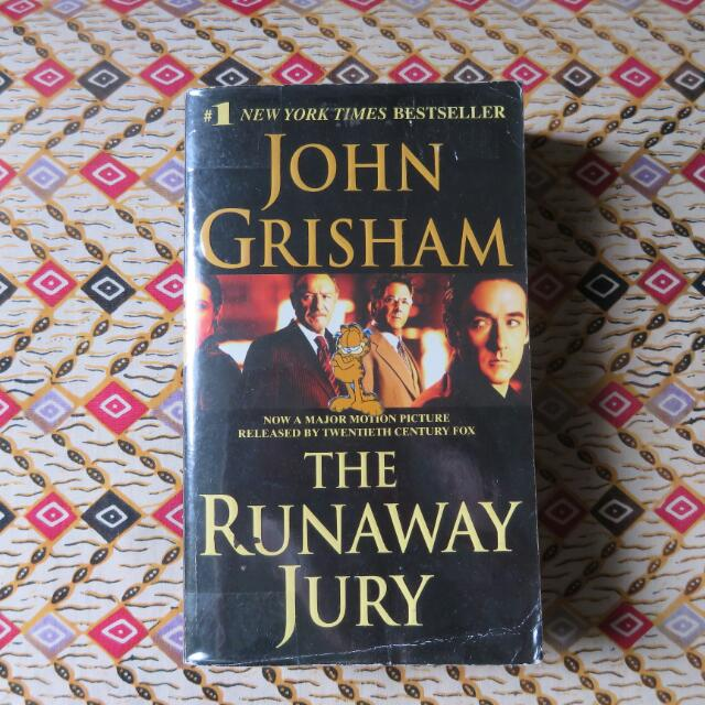 💙repriced💚The Runaway Jury - John Grisham
