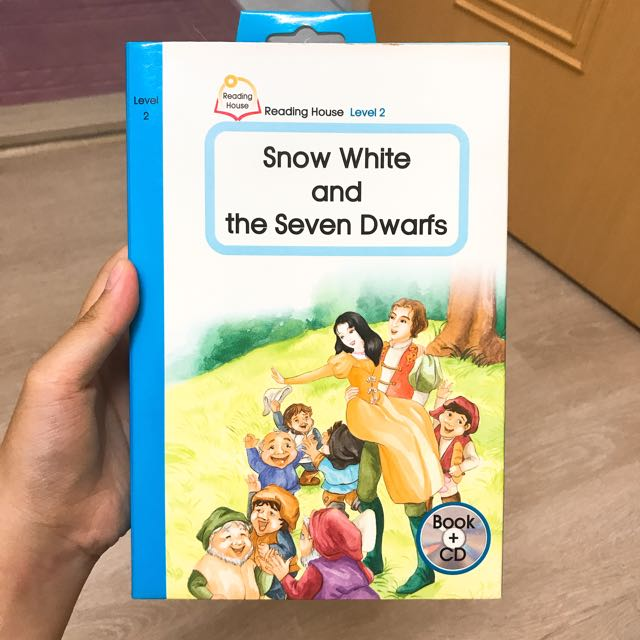 英文學習書—the Snow White And The Seven Drawfs