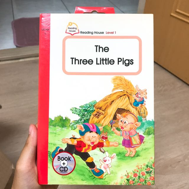英文學習書—The Three Little Pigs