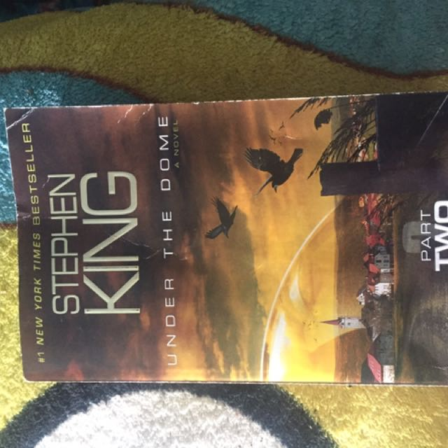 Three Stephen King Books