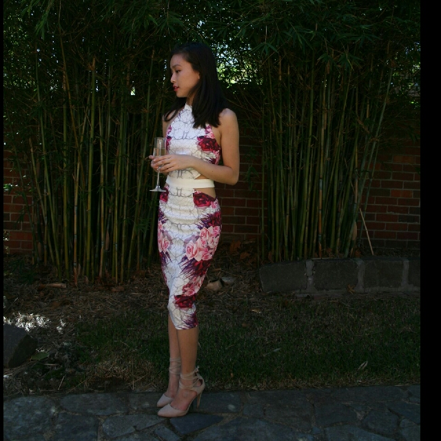 Tigermist Iris Lovers Dress Size 6