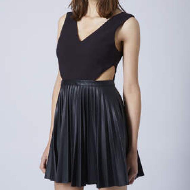 Topshop Cutout dress