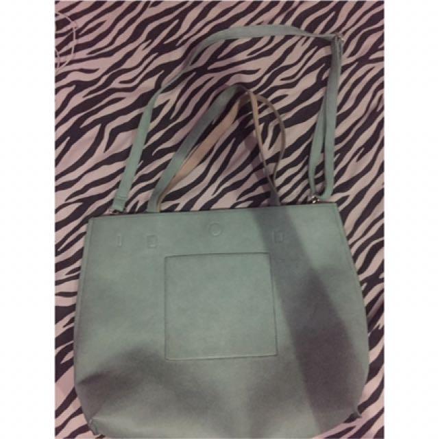 Tote Bag Cotton On Warna Biru