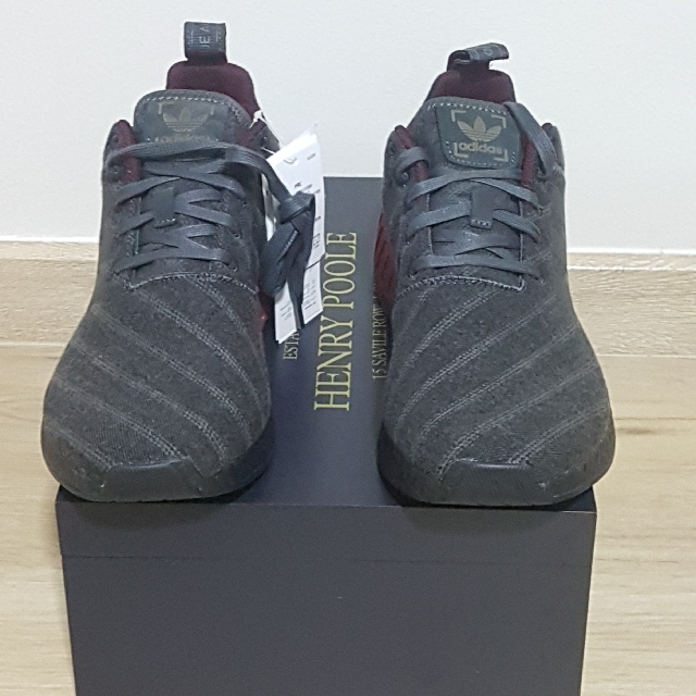 9c0996bab210b UK 8.5   US 9 Henry Poole x Size  Exclusive NMD R2