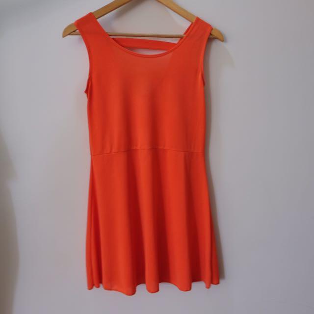 Unbranded Orange Dress