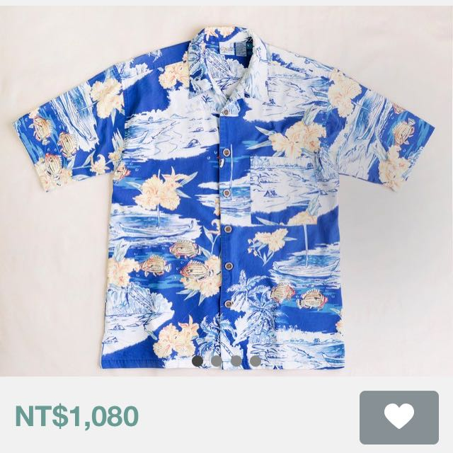 Vintage 海洋 夏威夷衫