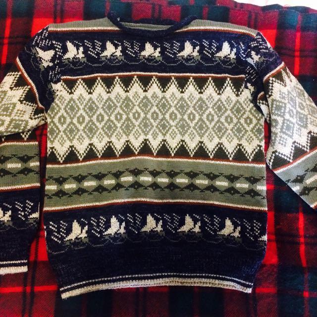 Vintage Woollen Sweater