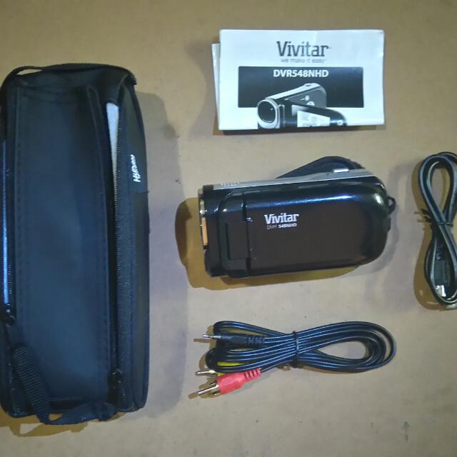 Vivitar Video Camera