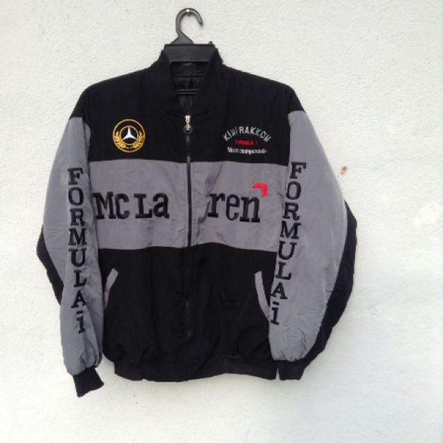 west mclaren mercedes kimi rakkonen formula 1 jacket, sports