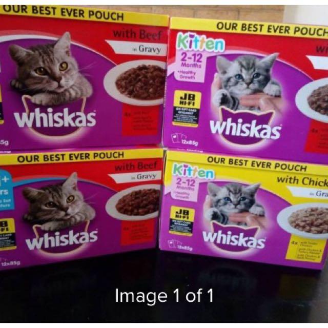 Whiskas Food