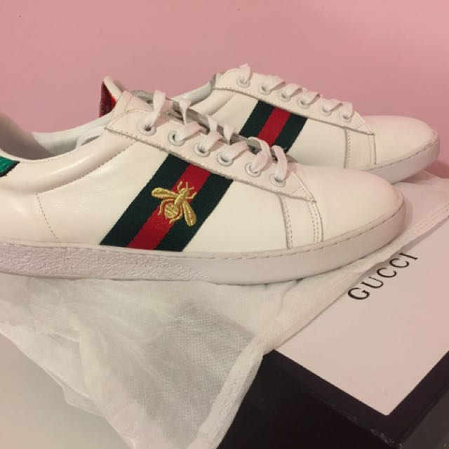 Women's Bee Trainers By Gucci