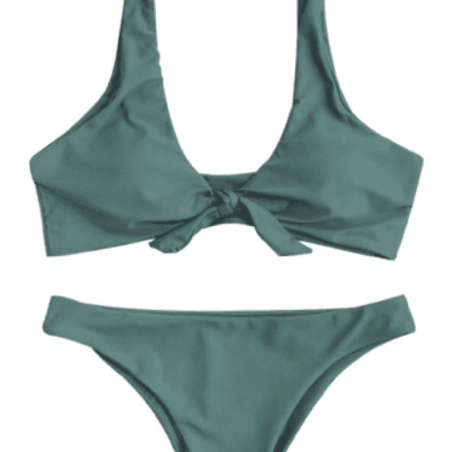 ZAFUL bikini In Lake Green
