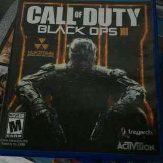 Call Of Duty Black Ops 3 Video Game for Playstation 4