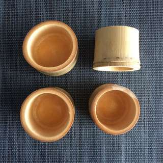 Japanese Bamboo Tea Cups