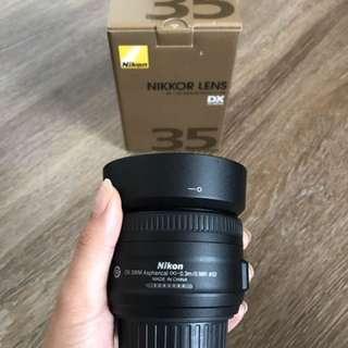 Nikkor 35 mm Lens