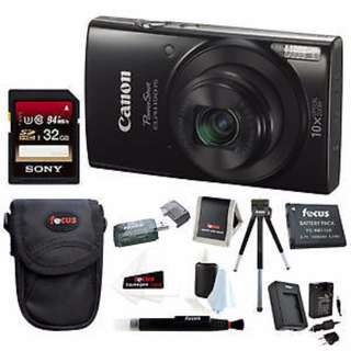Canon Powershot Camera Package