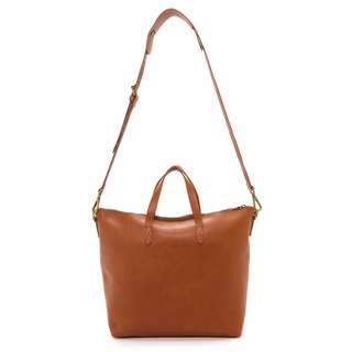 Madewell 拉鍊托特包/肩背包/斜背包 zipper transport bag/ J. Crew