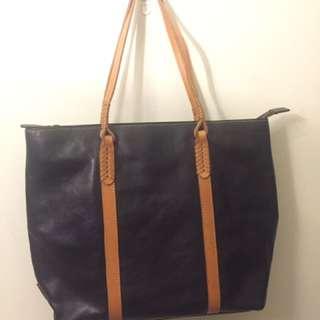 Genuine Italian Leather Shoulder Bag