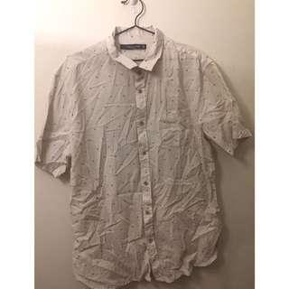 Cotton On Print Collared Shirt