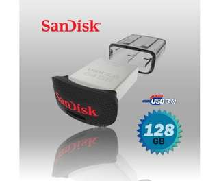 SanDisk CZ43 Ultra Fit USB 3.0 (SDCZ43-128G) 128GB USB Flash Drive