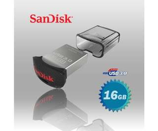 SanDisk CZ43 Ultra Fit USB 3.0 (SDCZ43-016G) 16GB USB Flash Drive
