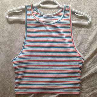 Zara Striped Tank Top