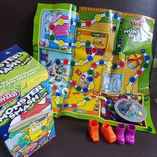 Play Doh Monster Smash Board Game