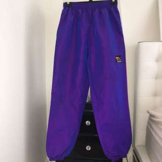 Vintage Purple Surf Style Pants
