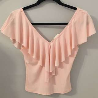 Blush Pink Crop Top