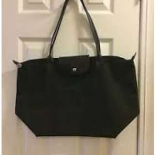 Longchamp Neo Pilage Tote Bag Black