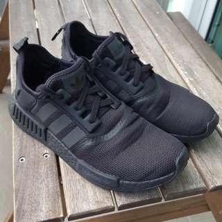 Adidas NMD Triple Black Reflective UK8.5/US9