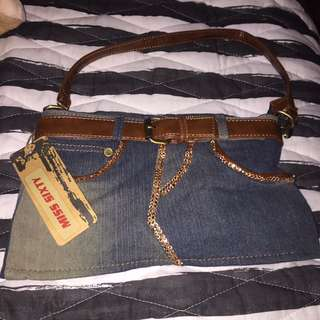 Miss Sixty Jean Skirt Purse