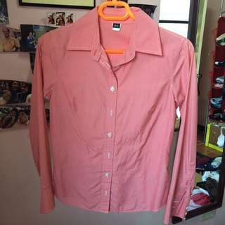 J.Crew Light Pink Polo