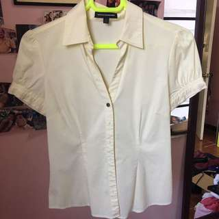 Express Light Yellow Polo