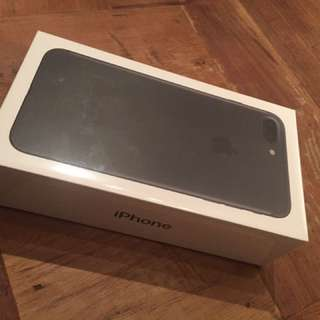 Unlocked New iPhone 7 Plus 128GB Black