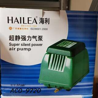 BRAND NEW ACO 9720 Hailea 30Litre/min fish tank air pump-$78 Add $8 for a 4 way stainless steel outlet  PM Me For video Of Actual Effect!!!  Collection :AMK AVE 4