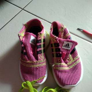Addidas Pink Size12 Kids