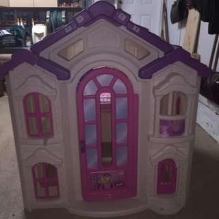 Life Size Play Barbie Doll House
