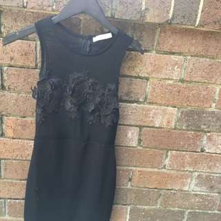 Black Night Dress